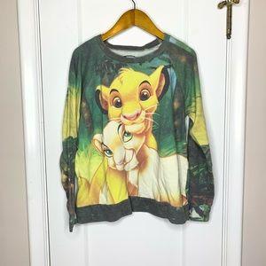 Disney The Lion King vintage sweatshirt Medium
